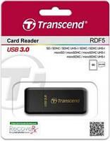 Кардридер transcend ts-rdf5k usb 3.0 black