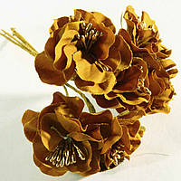Цветок 037 (1 пучек - 6 цветков)