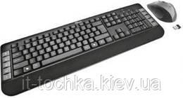 Беспроводной комплект trust tecla wireless multimedia keyboard mouse (18048)