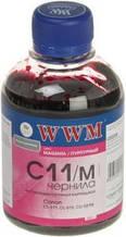 Чернила wwm c11/m magenta для canon cl-511С/ cl-513С/ cli-521c, 200 гр