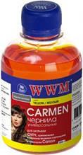 Чернила wwm carmen yellow universal canon 200 гр