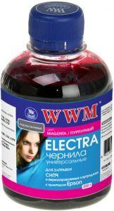 Чернила wwm electra eu/lm для epson 200г light magenta