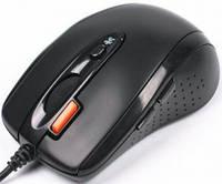 Мышь проводная A4 Tech N-70 FX-1 Black