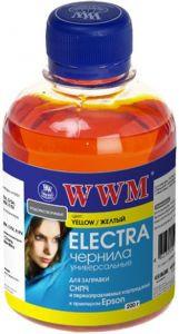 Чернила wwm electra eu/y для epson 200г yellow