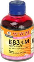 Чернила wwm e83 light-cyan для epson stylus photo t50/p50/px660, 200 гр (e83/lc)