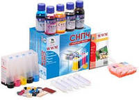 СНПЧ wwm canon pixma mg5140/mg5240/mg5340 с АО чипами (is.0123arc)