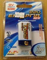 Аккумулятор крона Энергия 9v 220 mah