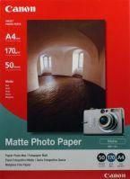 Матовая фотобумага canon a4 photo paper matte mp-101, 50л. (7981a005)