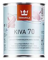 """Кiva 70 """"Кива 70""""  мебельный глянцевый лак на водной основе 0,9 л"""