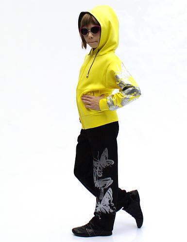 Спортивный костюм на заказ для девочек и мальчиков Бабочки