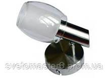 Светильник спотовый Lemanso ST137-1 одинарный E14 / 9W матовый хром