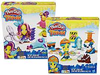 Play-Doh Town Город Игровой набор Житель и питомец в ассорт.