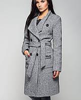 Женское полушерстяное пальто (Варшава утепленное leo)