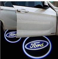 LED логотип в двери автомобиля Ford Дверной логотип марки авто
