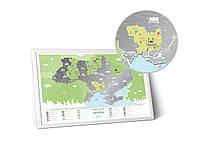 Скретч карта Travel Map ™ «Моя Україна»  (на украинском языке), фото 1