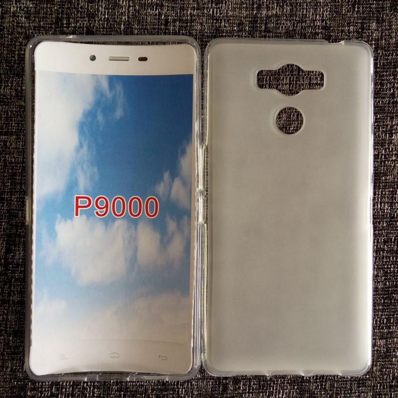 Чехол бампер на Elephone p9000 силиконовый белый