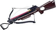 Арбалет Man Kung MK-150A3W, Рекурсивный, винтовочного типа, деревянный приклад ц:коричневый