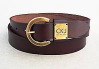 Ремень женский коричневый Calvin Klein Jeans