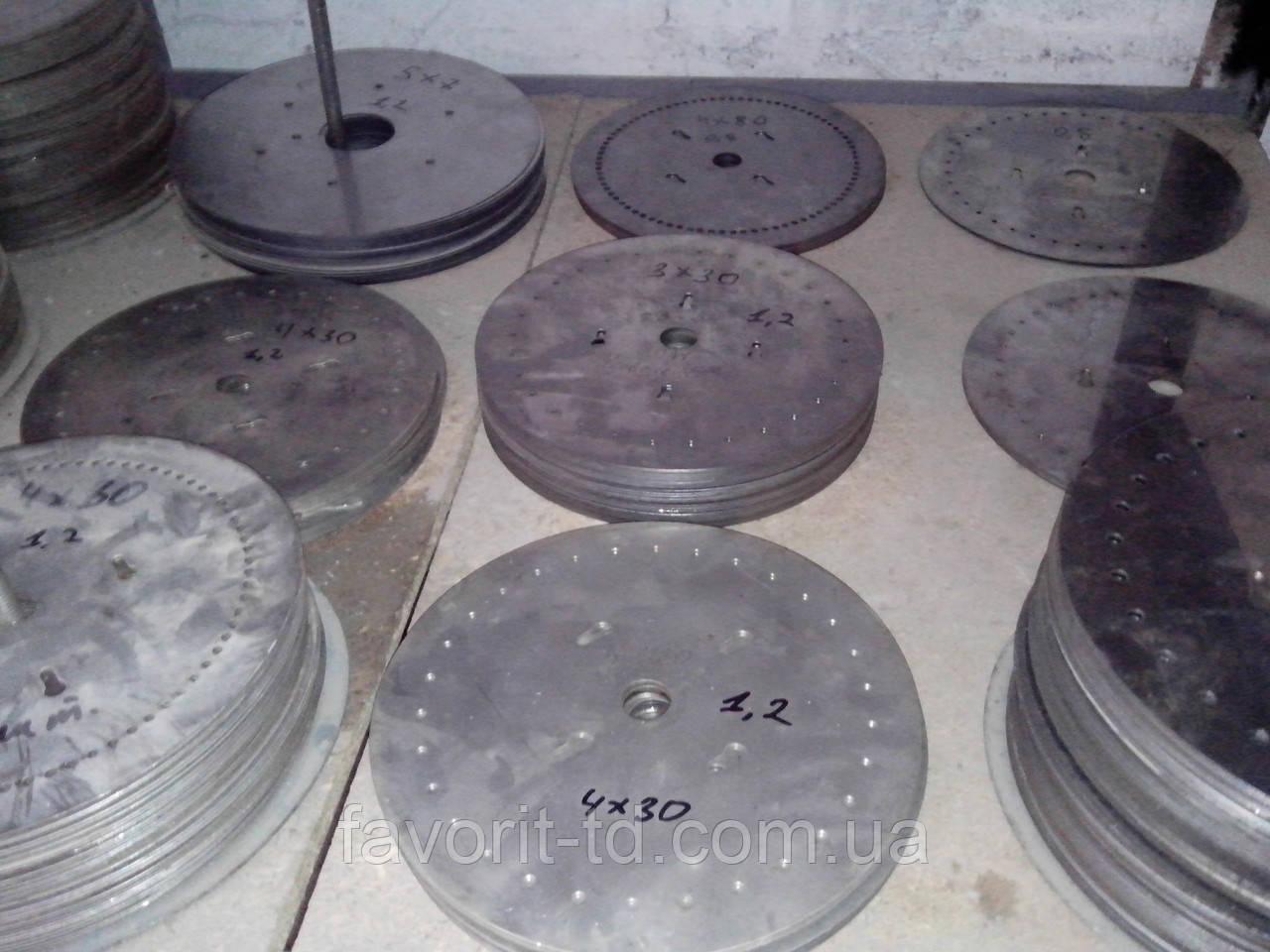 Комплект высевающих дисков УПС (подсолнух)