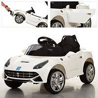 Детский электромобиль M 3176 EBR-1: 2.4G. EVA-колеса, 50W - БЕЛЫЙ - купить оптом