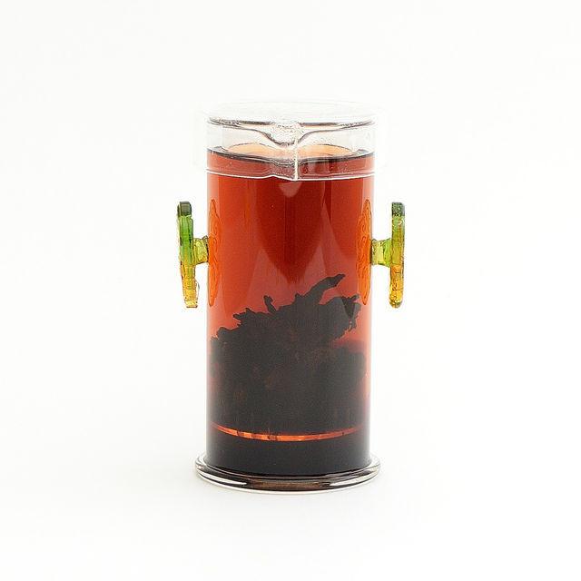 Стеклянная колба для заваривания чая 190 мл