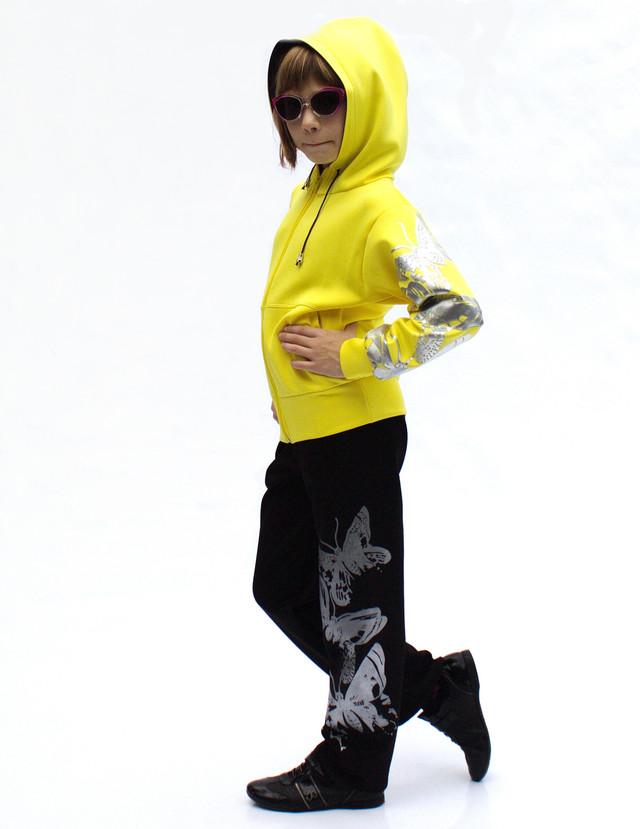 Детский спортивный костюм для девочек и мальчиков Бабочки - фото teens.ua