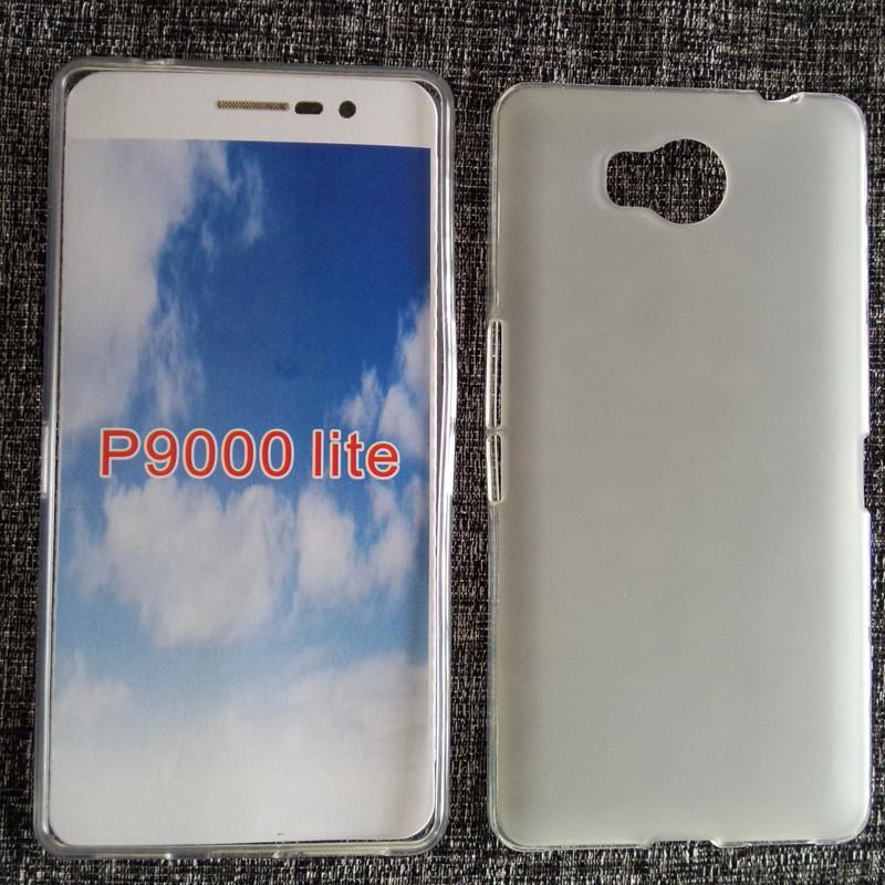 Чехол бампер для Elephone p9000 lite силиконовый белый