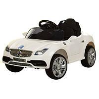 Детский электромобиль MERCEDES M 3177 EBR-1: 2.4G. EVA-колеса, 50W - БЕЛЫЙ- купить оптом