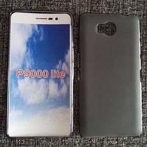 Чехол бампер для Elephone p9000 lite силиконовый черный