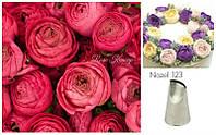 Лепесток розы Насадка  для крема  №123 средний, фото 1