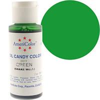 Краситель масляный Америколор Зеленый  Вес 56 грамм