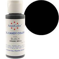 Краситель масляный Америколор Черный  Вес 56 грамм