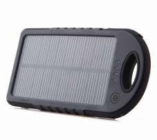 Портативное зарядное Power Bank Solar Charger UKC 10800mAh +12smd led,