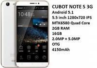 Смартфон Cubot Note S White 2/16 Gb 4150 mA