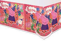 Скатерть детская полиэтиленовая Свинка Пеппа