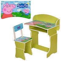 Парта детская Peppa Pig + стульчик