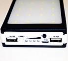 Портативный внешний аккумулятор на солнечной батареи Solar Power Bank 15000 mAh , фото 3