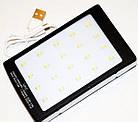 Портативный внешний аккумулятор на солнечной батареи Solar Power Bank 15000 mAh , фото 4
