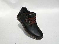 Зимние мужские кожаные ботинки Braxton нов., фото 1