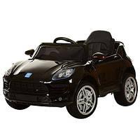Детский электромобиль Porsche  MACAN M 3178 EBRS-2: 2.4G. EVA-колеса, 50W - ЧЕРНЫЙ-купить оптом