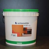 Ultrasaten 10/4/1 L white (Ультрасатен, біла глянцева акрилова фарба)