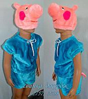 Детский карнавальный костюм Свинки Джорджа 6-8 лет
