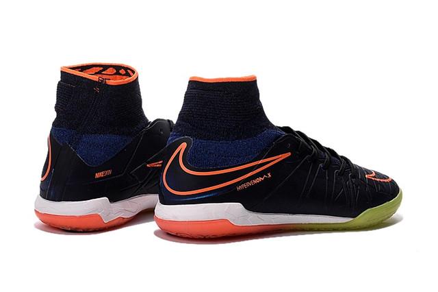 Футзалки (бампы) Nike HypervenomX Proximo IC Racer Blue/Total Orange/Black