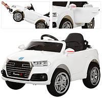 Детский электромобиль  Audi Style M 3179 EBLR-1: 2.4G. EVA-колеса, Кожа - БЕЛЫЙ-купить оптом , фото 1