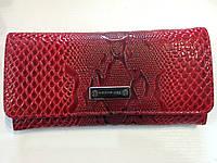 Кошелек женский кожаный красный Karya, фото 1