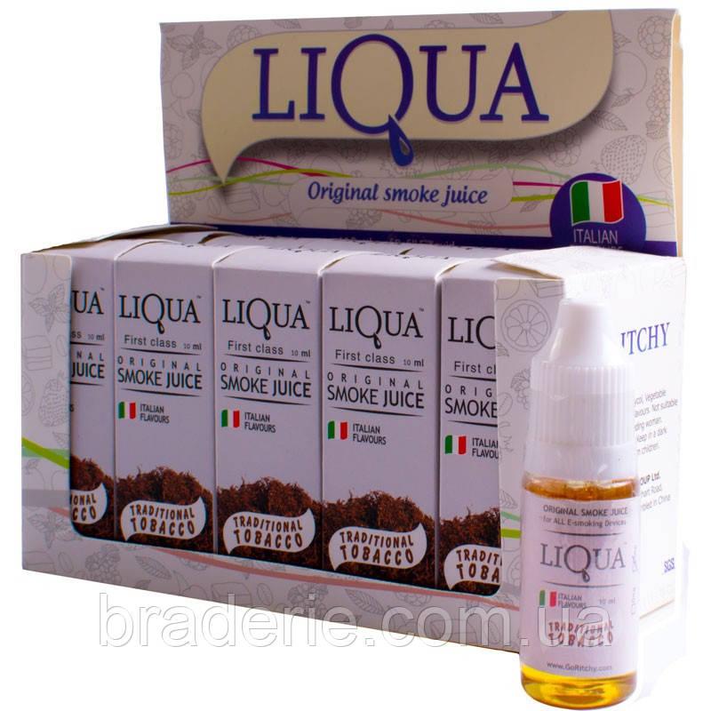 Жидкость для электронной сигареты LIQUA Табак