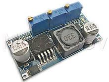 Преобразователь понижающий LM2596 2A с регулировкой напряжения и тока ( модуль зарядки и питания DC-DC CV СС )