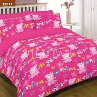 Подростковый комплект постельного белья Viluta ткань Ранфорс свинка пеппа