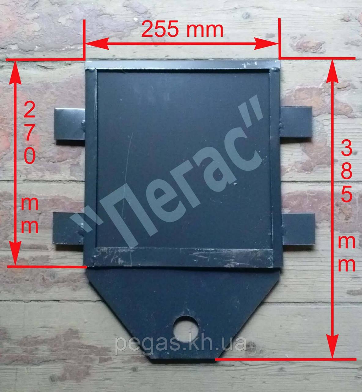 Задвижка печная металлическая большая (255х270 мм)