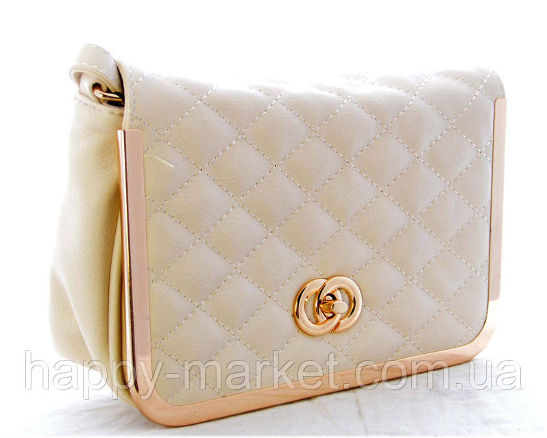 Женский клатч Chanel Белый 002